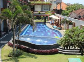 Grand Sinar Indah, hotel with jacuzzis in Legian