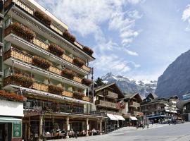 Hotel Central Wolter - Grindelwald, hôtel à Grindelwald