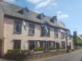 Dragon Inn, hotel in Crickhowell