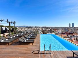 Grand Hotel Central, accessible hotel in Barcelona
