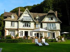 Le Manoir des Impressionnistes & Spa, hotel in Honfleur