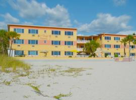 Page Terrace Beachfront Hotel, hotel near Treasure Island Golf Tennis Recreation Center, St Pete Beach