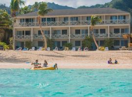 Moana Sands Beachfront Hotel、ラロトンガ島のホテル