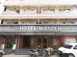 Hotel Maneck, hotel in Ooty
