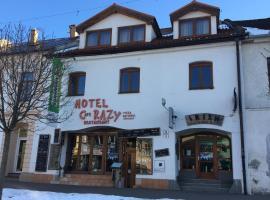 Hotel Cafe Razy, hotel near Poprad-Tatry Airport - TAT,