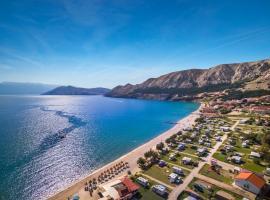 Baška Beach Camping Resort by Valamar, hotel near Mount Obzova, Baška