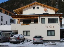 Apart Muntane, pet-friendly hotel in Ischgl