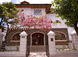Boutique Hotel Casa Foch, hotel in Quito