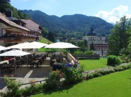 Hotel Blaue Gams ***S, spa hotel in Ettal
