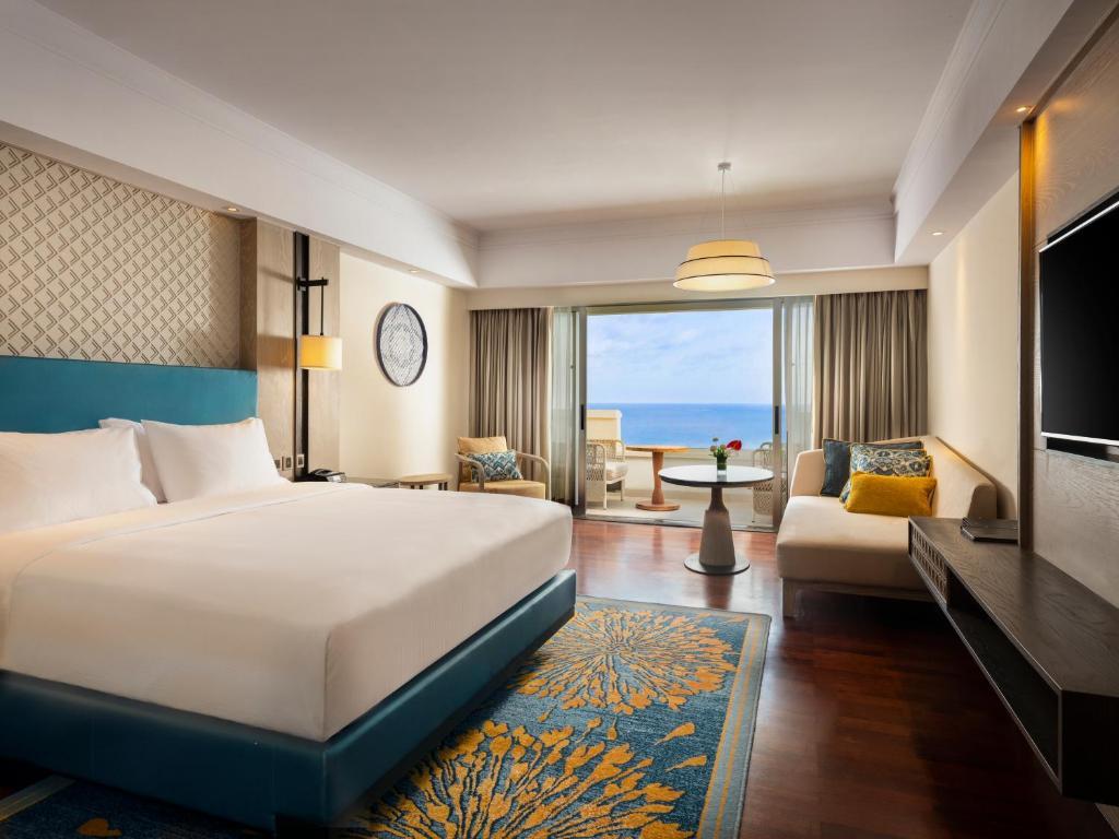 Номер в корпусі Cliff Tower з 1 двоспальним ліжком розміру king-size – Вид на океан: фотографія №1