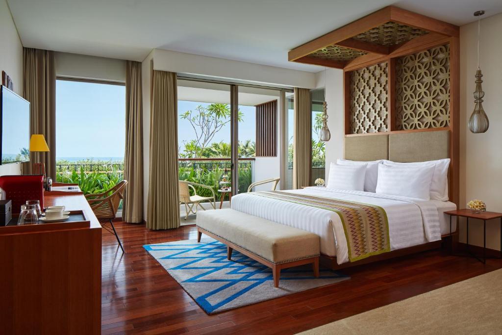 Люкс з однією спальнею та видом на океан: фотографія №2