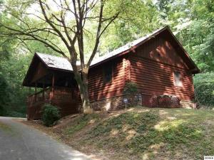 Log Cabin! 1mile from the action! Private Lane! Hot tub! Pool table!