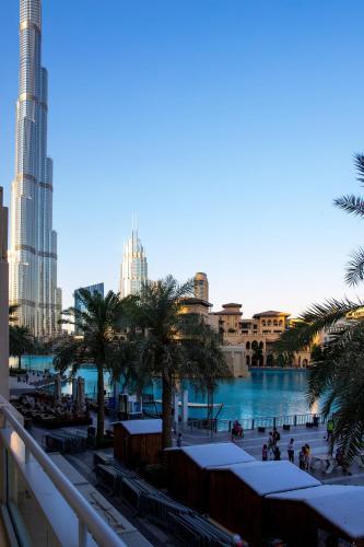 City Nights - 3B Villa Burj Khalifa View