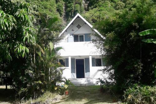 Maison calme dans jardin fruitier Sud Sauvage Réunion island