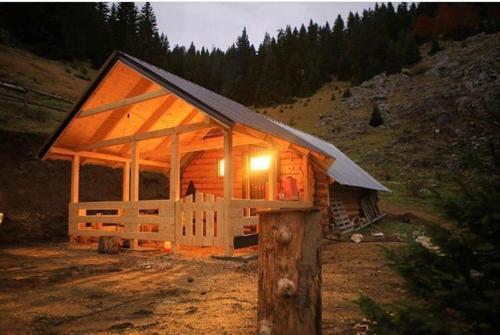Wood Cabin AA