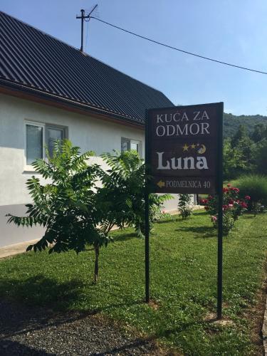 Kuća za odmor LUNA