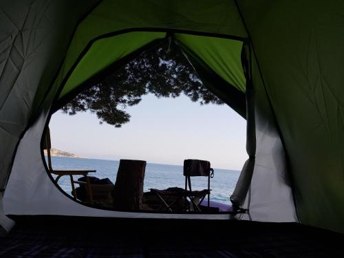 THE SEA CAVE CAMPING