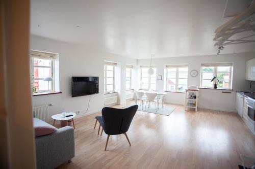 Central apartment in Tórshavn