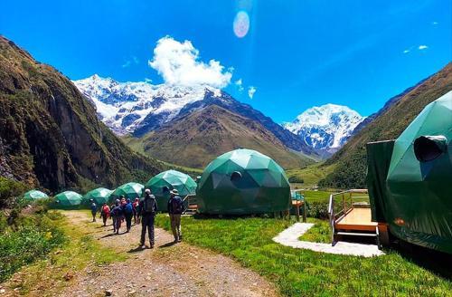 Salkantay Humantay Trek by Sky Domes
