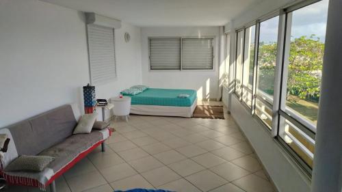 Guesthouse Didier, grande terrasse climatisée avec salle de bain partagée