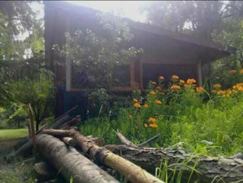 Cabaña Pequeño Paraíso en el Bosque con acceso al Río