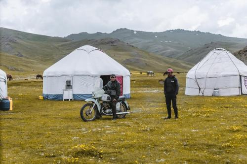 Yurt Camp Turuz at Song-Kol lake