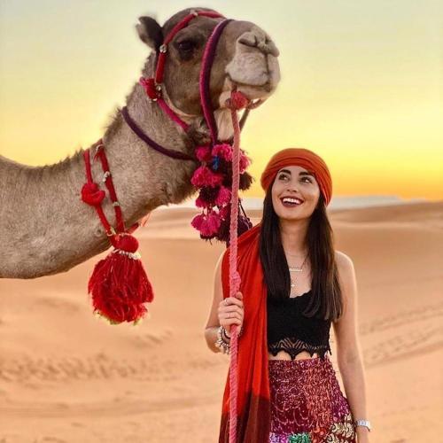 Berber merzouga dune