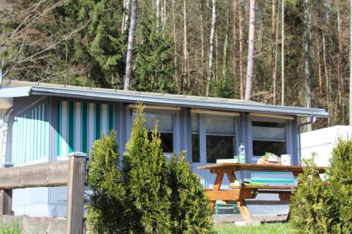 Schönsee-Camping Wohnwagen
