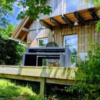 Idyllisches Holzhaus in traumhafter Umgebung