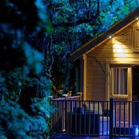 Alum Chine log cabin