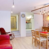 Unique ping-pong family duplex in the heart of city