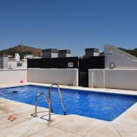Two-bedroom apartment with terraces and pool Jinetes