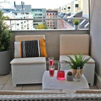 Penthouse in city center with big terrace and private garage.