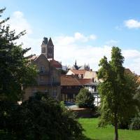 Altstadtblick mit Terrasse/Parkplatz - 34