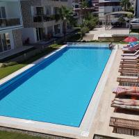 Antalya belek elegant golf apartment first floor 2 bedrooms pool view close to center