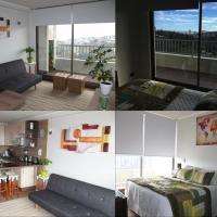 Acogedor Nuevo Apartamento Valparaiso, Netflix, Estacionamiento