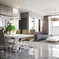 LUXURY GOLD APARTMENT - Rooftop Pool City View In the HEART HCM