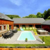 Tranquil Villa in Manhay with Jacuzzi