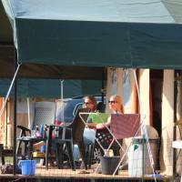 Safari tent at Eurocamping Vessem