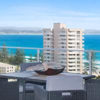 Dbah Unit 13 - On the hill with 180 degree views overlooking Rainbow Bay Coolangatta and Tweed Heads