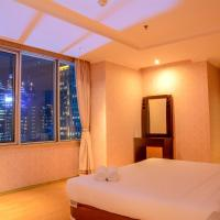 Spacious 3BR at FX Residence with Mall Access By Travelio