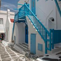 Mykonos Downtown Apartment in the City Center