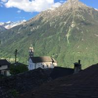 Mariana's mountain house in Leontica Switzerland