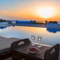 Mykonos Tranquil Sunset by GHH