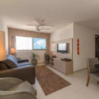 NOB1804 Excelente Flat em Boa Viagem com 2 quartos