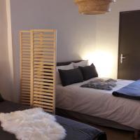 """Appartement modulable 2 a 5 personnes """"linge de lit et toilette en supplement"""""""