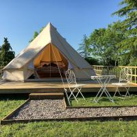 Bell Tent - Upper View