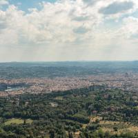Tuscany apartment florence view