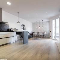 Moderno apartamento Sagrada Familia
