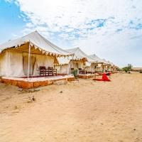 1 BHK Tent in Opposite to Sam Sand Dunes, Jaisalmer(4510), by GuestHouser